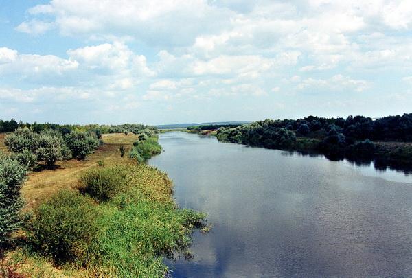 Схема реки северский донец
