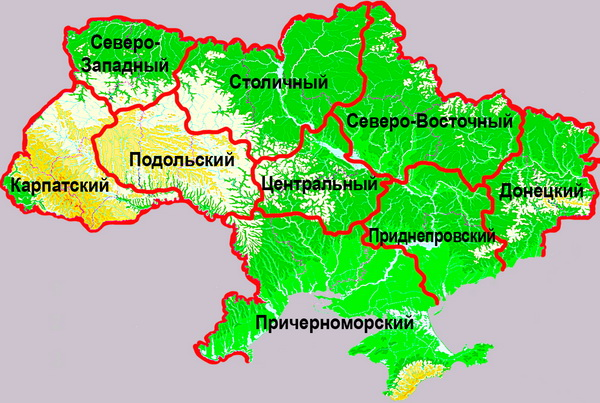 Статьи об Украине. Карта-схема