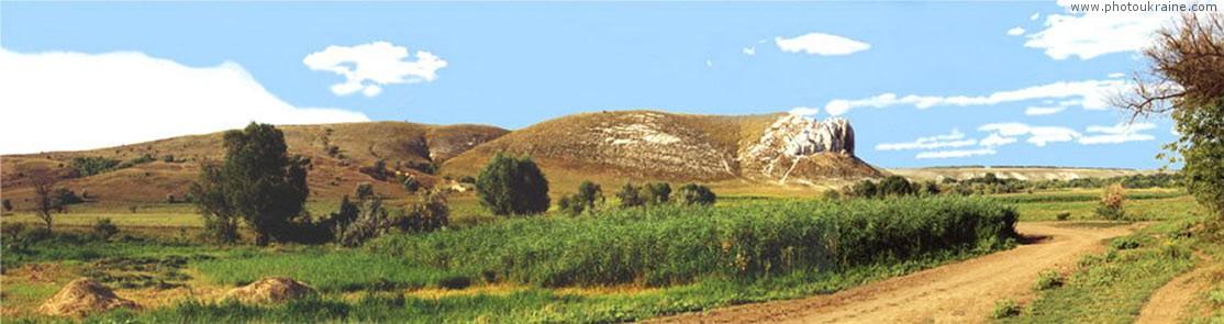 Панорама скал