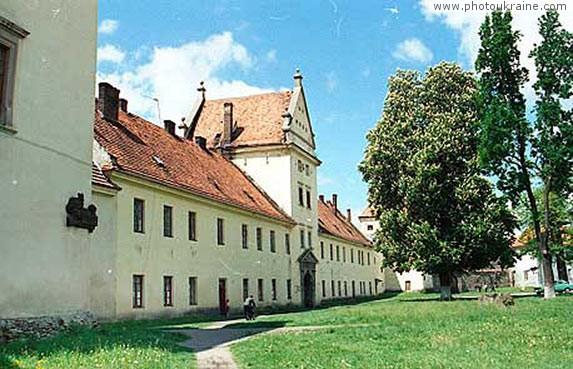 Town Zhovkva. Castle of Zholkevskyi Lviv Region Ukraine photos