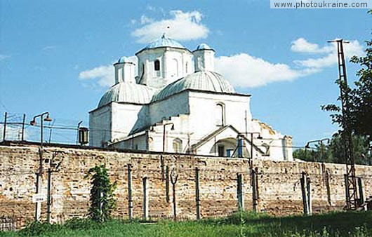 Village Hamaliivka. Cathedral of Kharlampiy Monastery - prison Sumy Region Ukraine photos