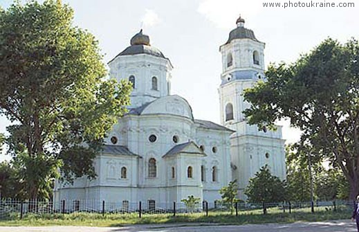 Small town Voronizh. Michael Church Sumy Region Ukraine photos