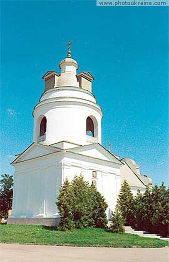 Town Pryluky. Nicholas Church-Bell Tower Chernihiv Region Ukraine photos