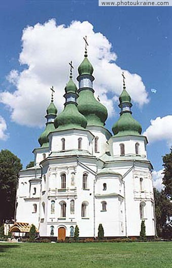 Trinity Cathedral Chernihiv Region Ukraine photos