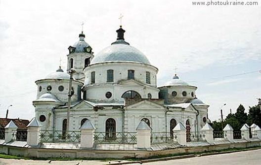 Town Romny. Church of Ascension Sumy Region Ukraine photos