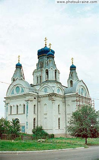 Trinity Church Luhansk Region Ukraine photos