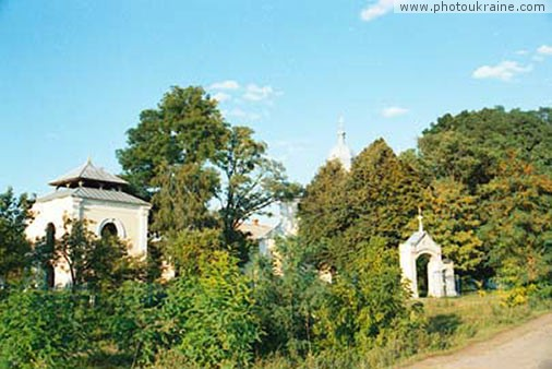 Zhydychyn Monastery Volyn Region Ukraine photos