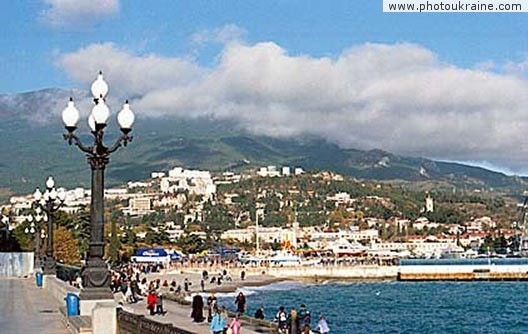 Town Yalta. Autonomous Republic of Crimea Ukraine photos