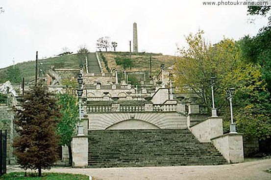 Town Kerch. Great Mitridat staircase Autonomous Republic of Crimea Ukraine photos