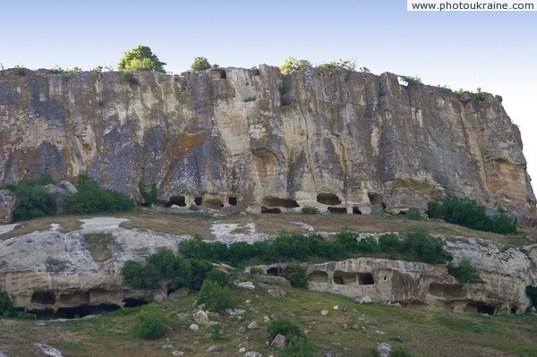 Caves of Tepe-Kermen Autonomous Republic of Crimea Ukraine photos
