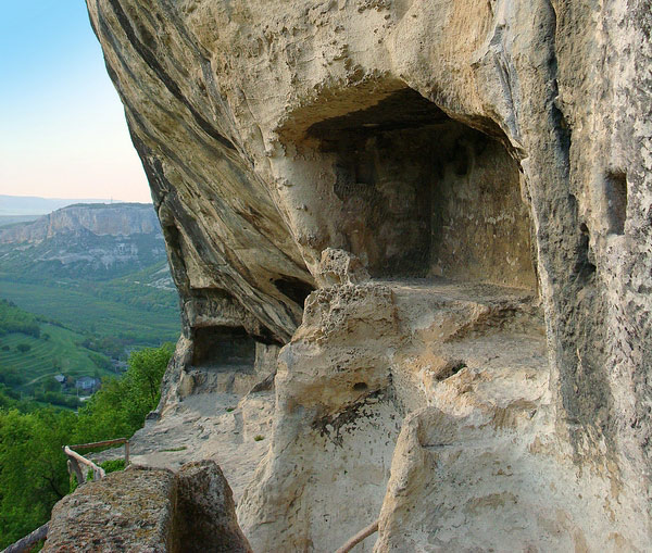 Ruins of Chelter-Koba monastery Autonomous Republic of Crimea Ukraine photos