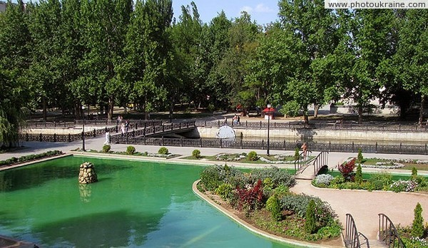 Simferopol. Park banks of Salgir river Autonomous Republic of Crimea Ukraine photos