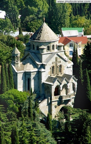 Yalta. Armenian Church of the Holy Hripsime Autonomous Republic of Crimea Ukraine photos