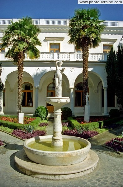 Livadiya. In the palace Italian courtyard Autonomous Republic of Crimea Ukraine photos