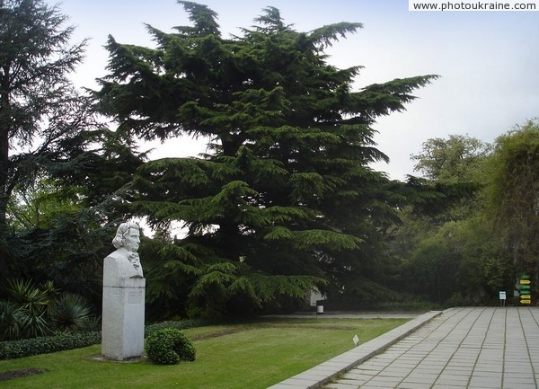 Monument H. Stevenu – creator of the Nikitsky Botanical Garden Autonomous Republic of Crimea Ukraine photos