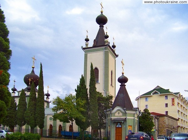Alushta. All Saints Church of the Crimean Autonomous Republic of Crimea Ukraine photos
