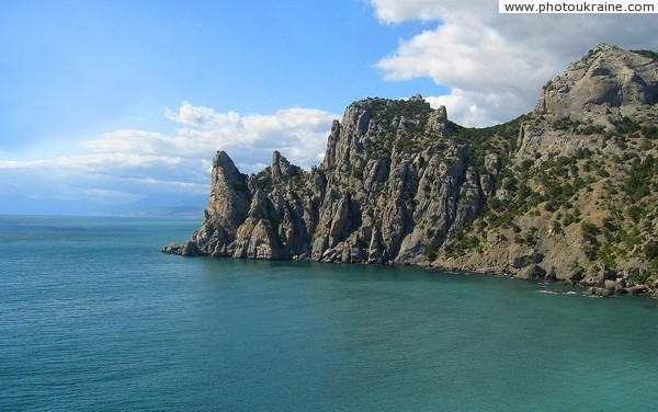 Novyi Svet. Cape Chiken and Blue Bay Autonomous Republic of Crimea Ukraine photos