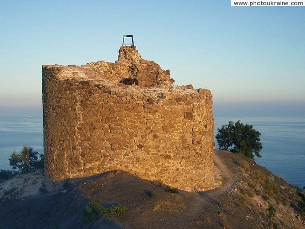 Ruins of tower Chaban-Kule Autonomous Republic of Crimea Ukraine photos