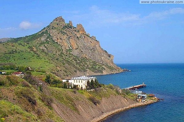 Biological station of Garadag Nature Reserve Autonomous Republic of Crimea Ukraine photos