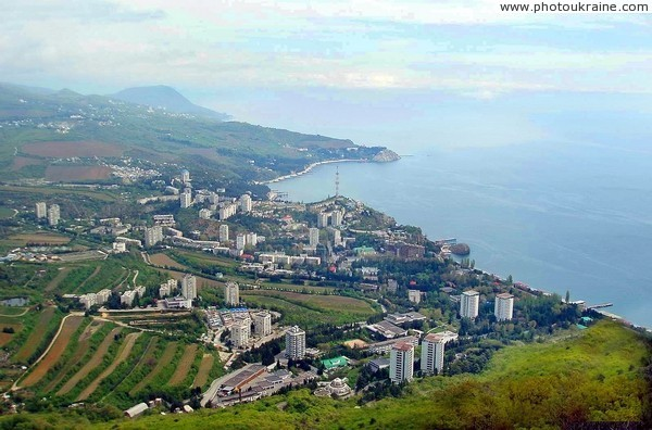 Partenit from slope of Ayudag Autonomous Republic of Crimea Ukraine photos