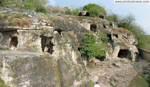 Cave town Chufut-Kale Autonomous Republic of Crimea Ukraine photos