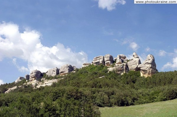 Rocks Karalez sphinxes Autonomous Republic of Crimea Ukraine photos