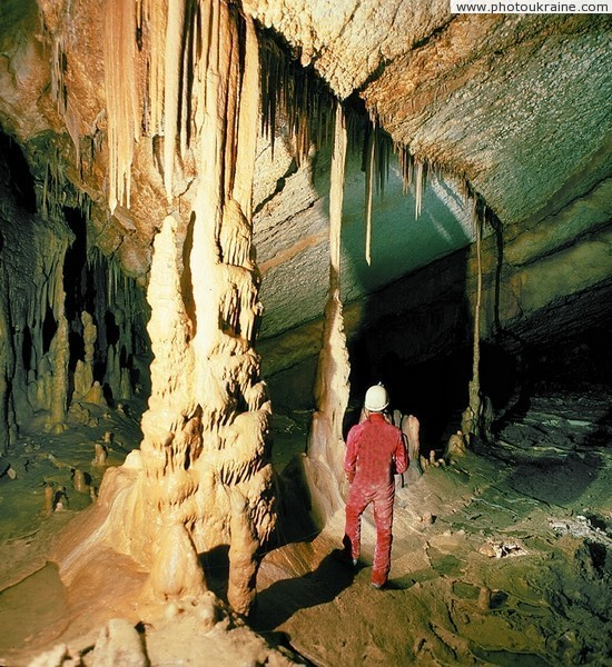 Marble Cave Autonomous Republic of Crimea Ukraine photos