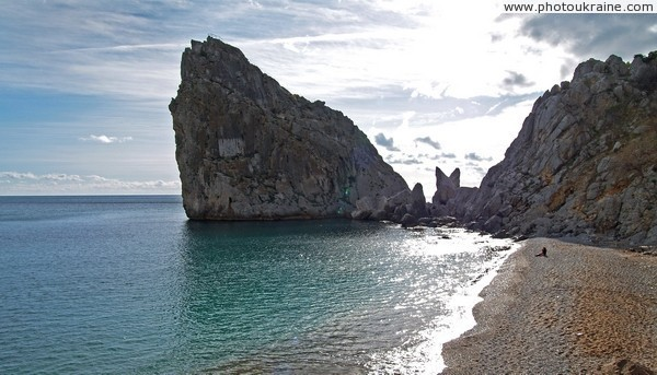 Simeiz. Rock Wing Swan Autonomous Republic of Crimea Ukraine photos