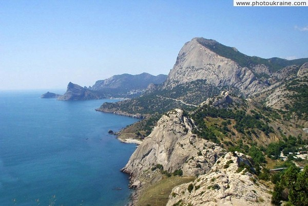 Rocks of Sudak and Novyi Svet Autonomous Republic of Crimea Ukraine photos