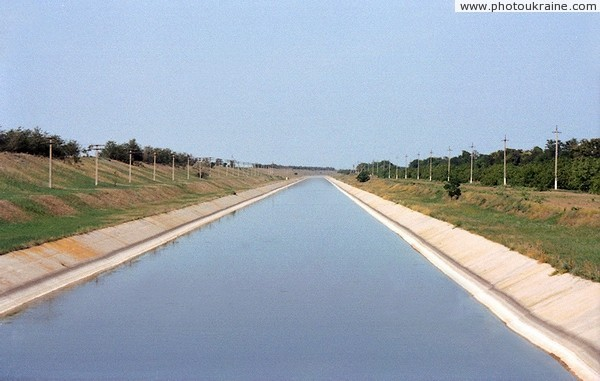 Dzhankoy. North-Crimean Canal Autonomous Republic of Crimea Ukraine photos