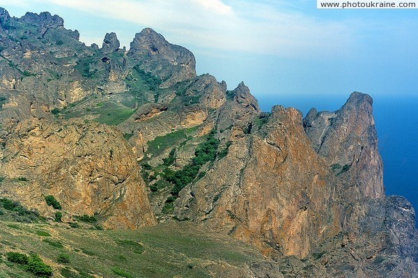 Karadag Nature Reserve. Ridge Khoba-Tepe Autonomous Republic of Crimea Ukraine photos
