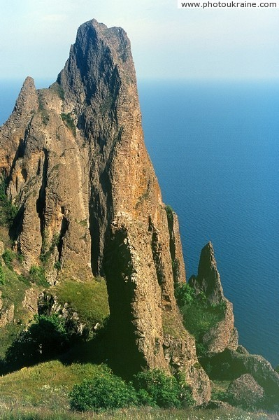 Karadag Nature Reserve. Ridge Kok-Kaya Autonomous Republic of Crimea Ukraine photos