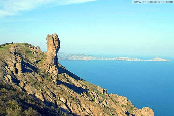 Karadag Nature Reserve. Volcanic outlier Autonomous Republic of Crimea Ukraine photos
