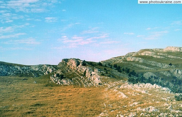 Crimean Reserve. At yayla Autonomous Republic of Crimea Ukraine photos