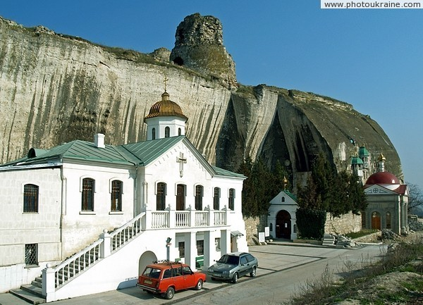 Inkerman. Inkerman monastery Sevastopol City Ukraine photos