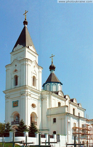 Brailiv. Holy Trinity monastery church Vinnytsia Region Ukraine photos