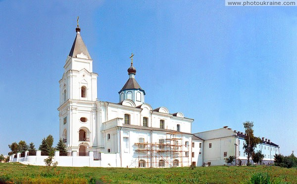 Brailiv. Ensemble of buildings of Holy Trinity monastery Vinnytsia Region Ukraine photos