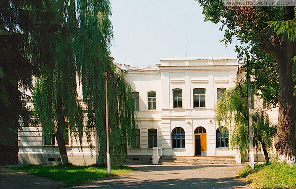 Brailiv. Park palace facade of Nadezhda von Mekk Vinnytsia Region Ukraine photos