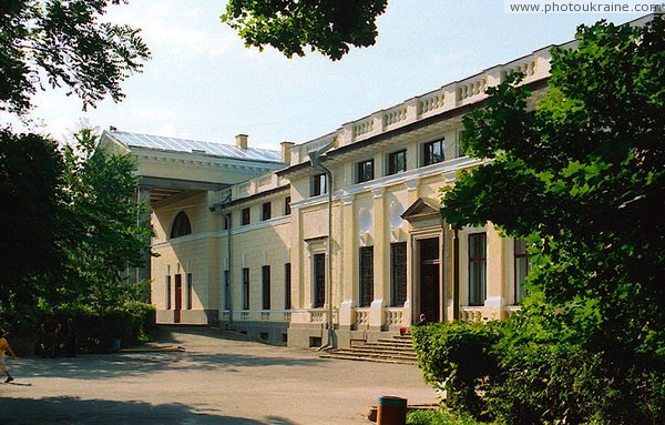 Nemyriv. Facade of palace from park Vinnytsia Region Ukraine photos