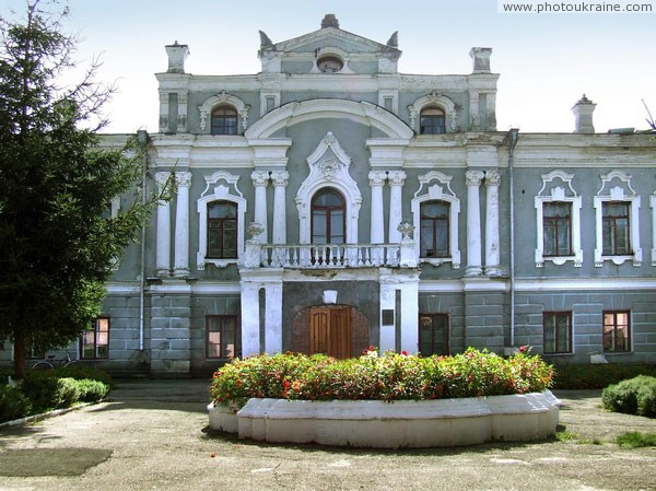 Stara Pryluka. Central part of front facade Vinnytsia Region Ukraine photos