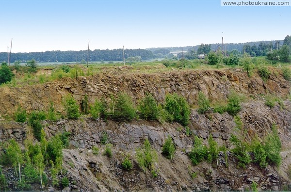 Stryzhavka. Granite quarry Vinnytsia Region Ukraine photos