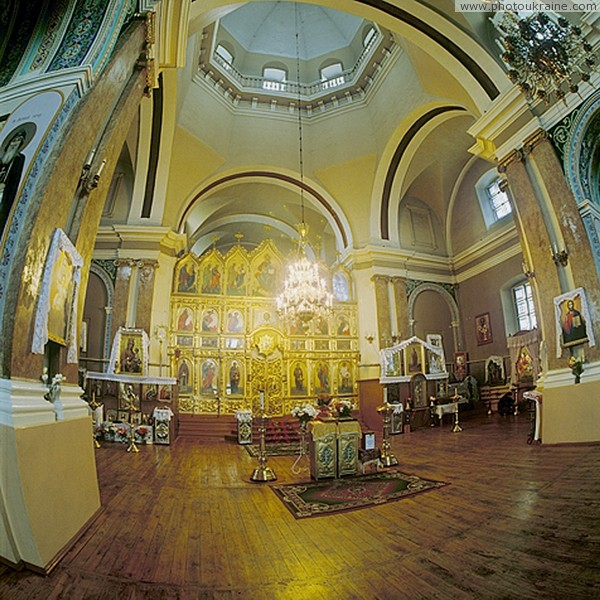 Shargorod. Nicholas cathedral (average of interior) Vinnytsia Region Ukraine photos