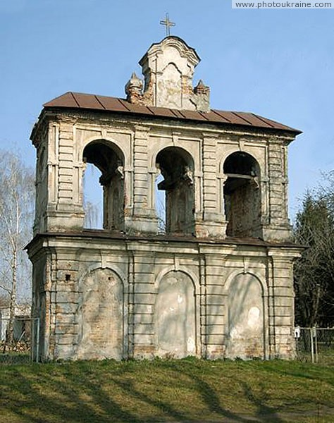 Berestechko. Belfry of church Volyn Region Ukraine photos