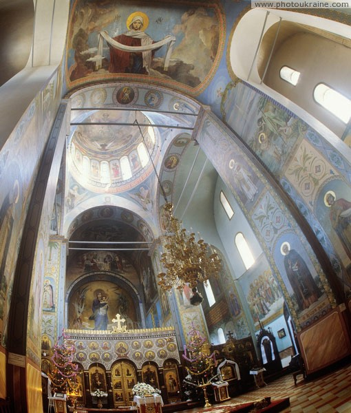 Volodymyr-Volynskyi. Paintings of Cathedral Volyn Region Ukraine photos