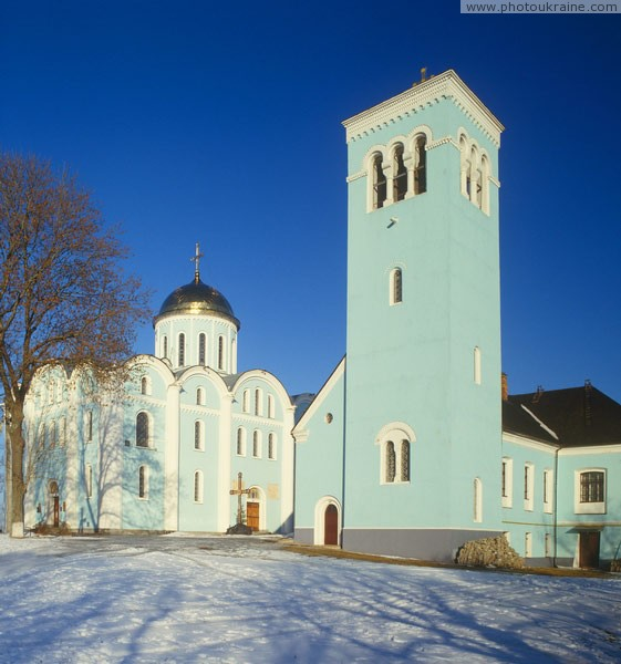 Volodymyr-Volynskyi. Cathedral and bell tower Volyn Region Ukraine photos