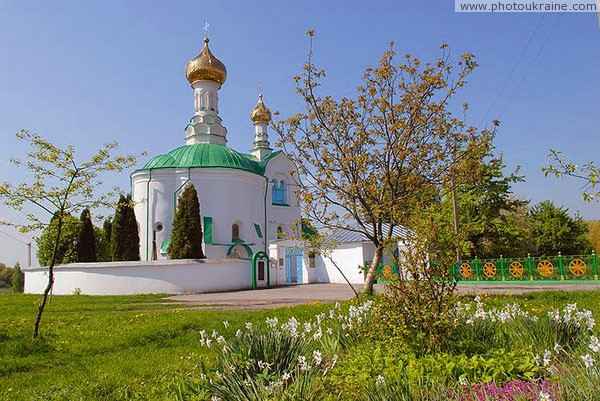 Volodymyr-Volynskyi. Rear facade of Vasyl church Volyn Region Ukraine photos