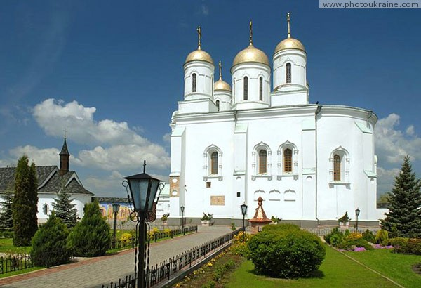 Zymne. Assumption cathedral was made in old Russian style Volyn Region Ukraine photos