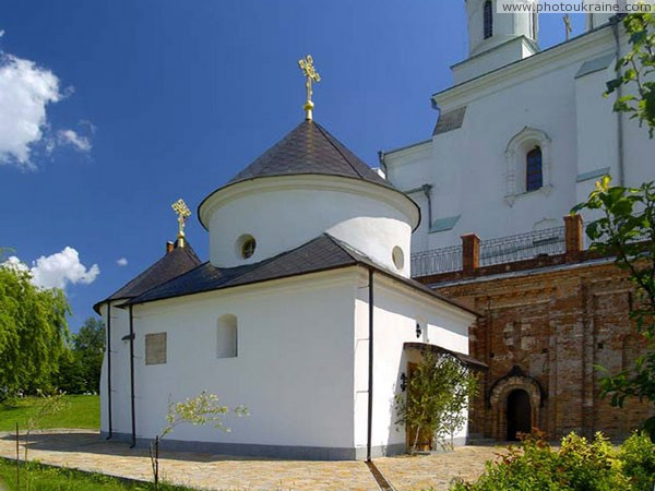Zymne. Holy Trinity church-chapel Volyn Region Ukraine photos