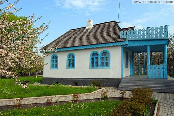 Kolodyazhne. White house estates Kosach Volyn Region Ukraine photos