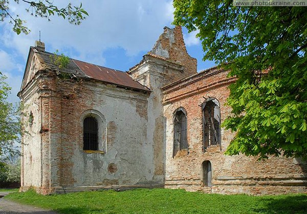 Lukiv. Ruins of church of St. Stanislaw and Anna Volyn Region Ukraine photos